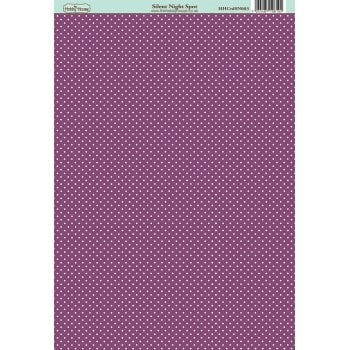The Hobby House Silent Night Spot Patterned Paper