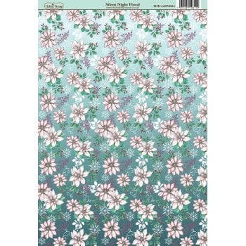 The Hobby House Silent Night Floral Patterned Paper