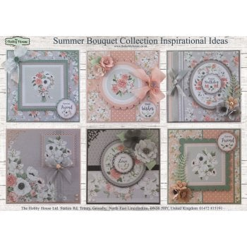 The Hobby House Summer Bouquet Collection