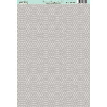 The Hobby House Summer Bouquet Lattice Paper