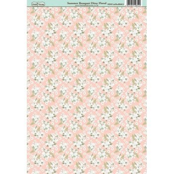 The Hobby House Summer Bouquet Ditsy Floral Paper
