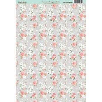 The Hobby House Summer Bouquet Floral Paper