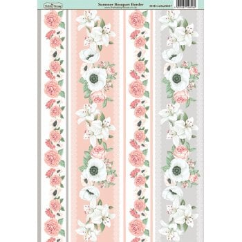 The Hobby House Summer Bouquet Border Paper