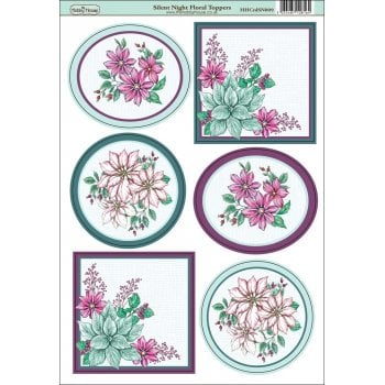 The Hobby House Silent Night Floral Topper