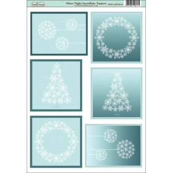 The Hobby House Silent Night Snowflake Topper Slight Seconds