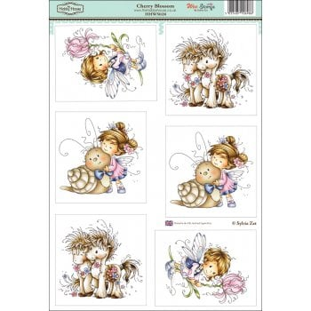 The Hobby House Wee Stamps - Cherry Blossom