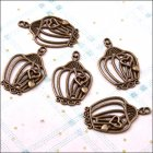 Metal Charms & Spacers - Birdcages 3