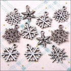 Metal Charms & Spacers - Snowflake Flurry