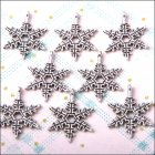 Metal Charms & Spacers - Snowflake 2