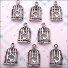 Metal Charms & Spacers - Birdcages 4