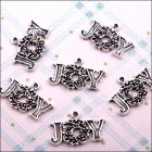 Metal Charms & Spacers - Christmas Joy