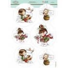 Wee Stamps - Christmas Berry