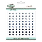 Self Adhesive Pearls - 4mm The Blues SLIGHT SECONDS