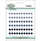 Self Adhesive Pearls - 5mm The Blues