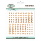 Self Adhesive Rhinestones - Peach SLIGHT SECONDS