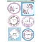 Amelia Rose Sentiment Topper