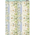 Daisy Dreams Border Paper