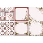 Festive Wonderland Decorative Panels and Die-cuts