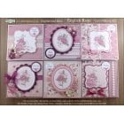 English Rose Floral Card Making Kit (UK delivery only)