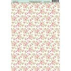 Wild Rose Ditsy Floral Paper