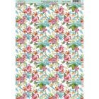 Tropical Blooms Floral Paper
