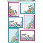 Tropical Blooms Toppers
