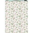 Deck the Halls Ditsy Floral Paper