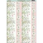 Summer Meadow Border Paper