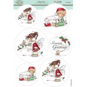 Wee Stamps - Winter Fairy SLIGHT SECONDS