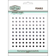 Self Adhesive Pearls - 3mm Midnight Magic