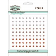 Self Adhesive Pearls - 3mm Peaches & Cream