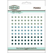 Self Adhesive Pearls - 3mm Sea Charm