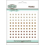 Self Adhesive Pearls - 3mm Golden Trio