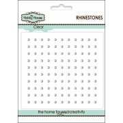 Self Adhesive Rhinestones - 2mm Clear Rhinestones SLIGHT SECONDS
