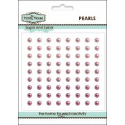 Self Adhesive Pearls - 4mm Sugar & Spice
