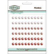 Self Adhesive Pearls - 5mm Peaches & Cream