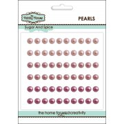 Self Adhesive Pearls - 5mm Sugar & Spice
