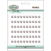 Self Adhesive Pearls - 5mm Ivory Silk
