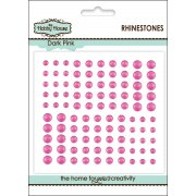 Self Adhesive Rhinestones - Dark Pink SLIGHT SECONDS