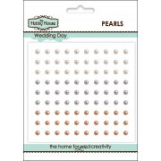 Self Adhesive Pearls - 3mm Wedding Day