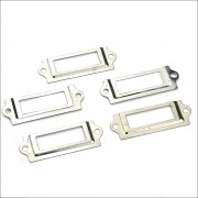 Hardware Findings - Silver Label Holder