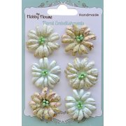 Boutique Paper Flowers - Daisies Green