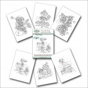 Daisy Mae Draws Ready to Colour Art Book - Magic of Christmas