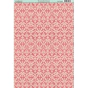 Rose Garden Damask Paper SLIGHT SECONDS