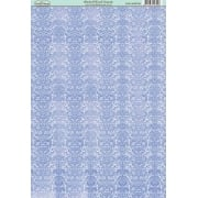 Bluebell Wood Damask Paper