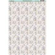 Bluebell Wood Ditsy Floral Paper