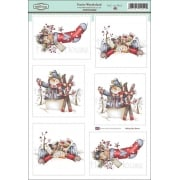 Daisy Mae Draws Card Toppers - Festive Wonderland SLIGHT SECONDS