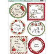 Christmas Holly Sentiments Topper SLIGHT SECONDS