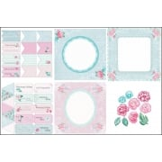 Chantilly Rose Decorative Panels and Die-cuts SLIGHT SECONDS