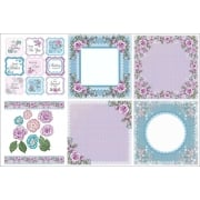 Amelia Rose Decorative Panels and Die-cuts